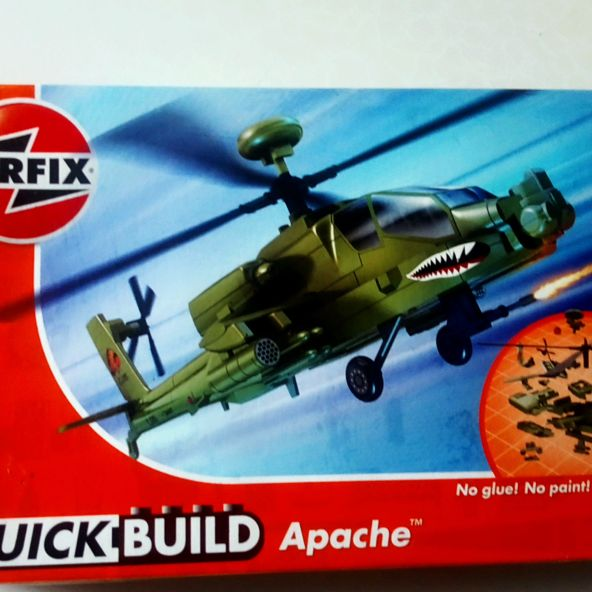 New Airfix quick build apache