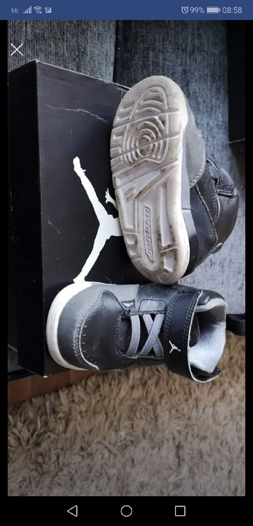 4.5 toddler Nike Jordan high tops