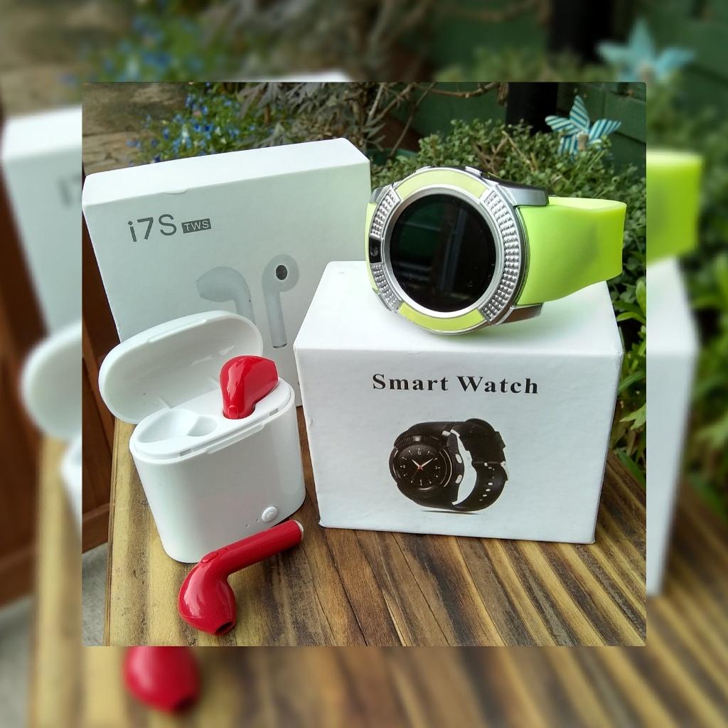 Smart Watch & Earbuds