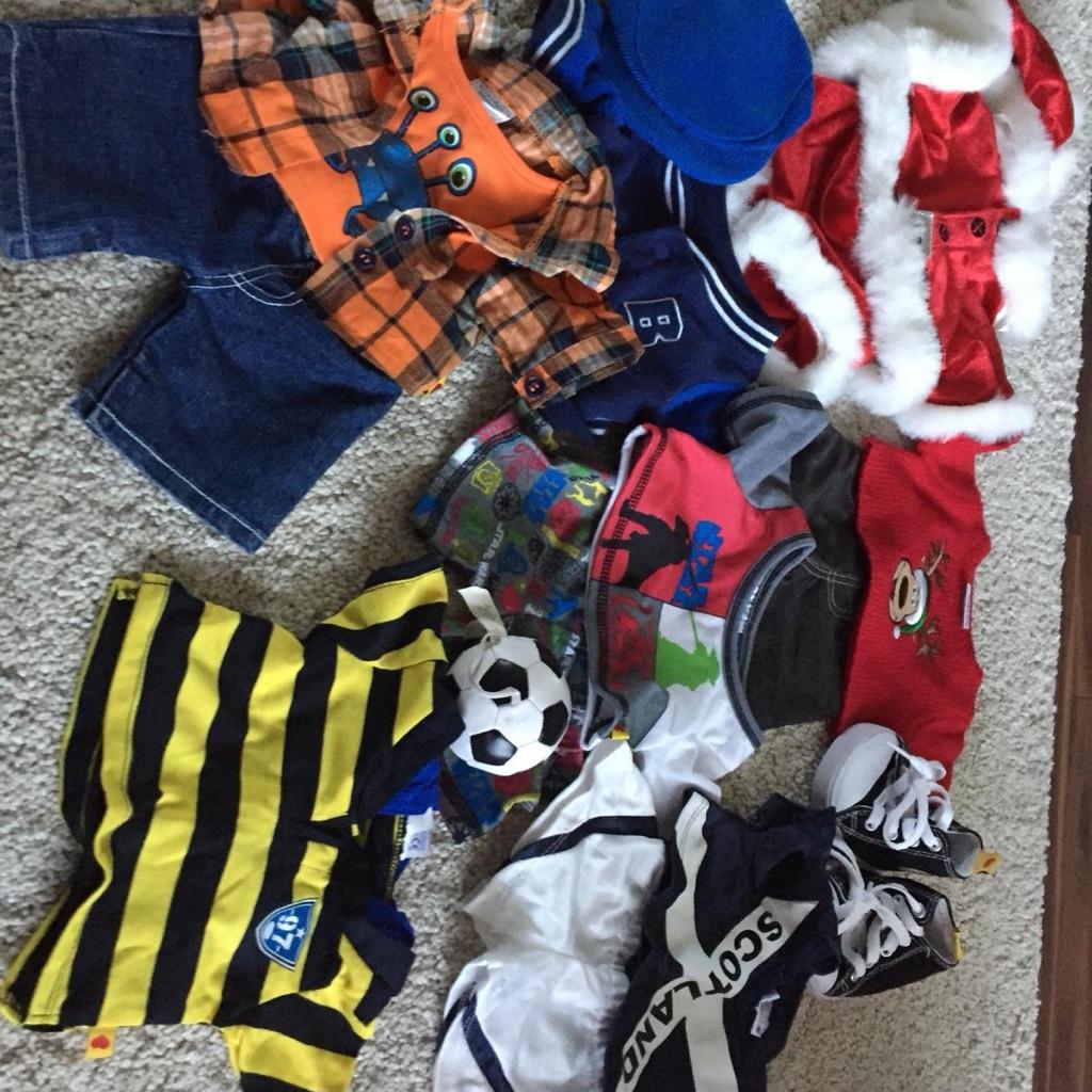 Build a bear clothes bundle 2