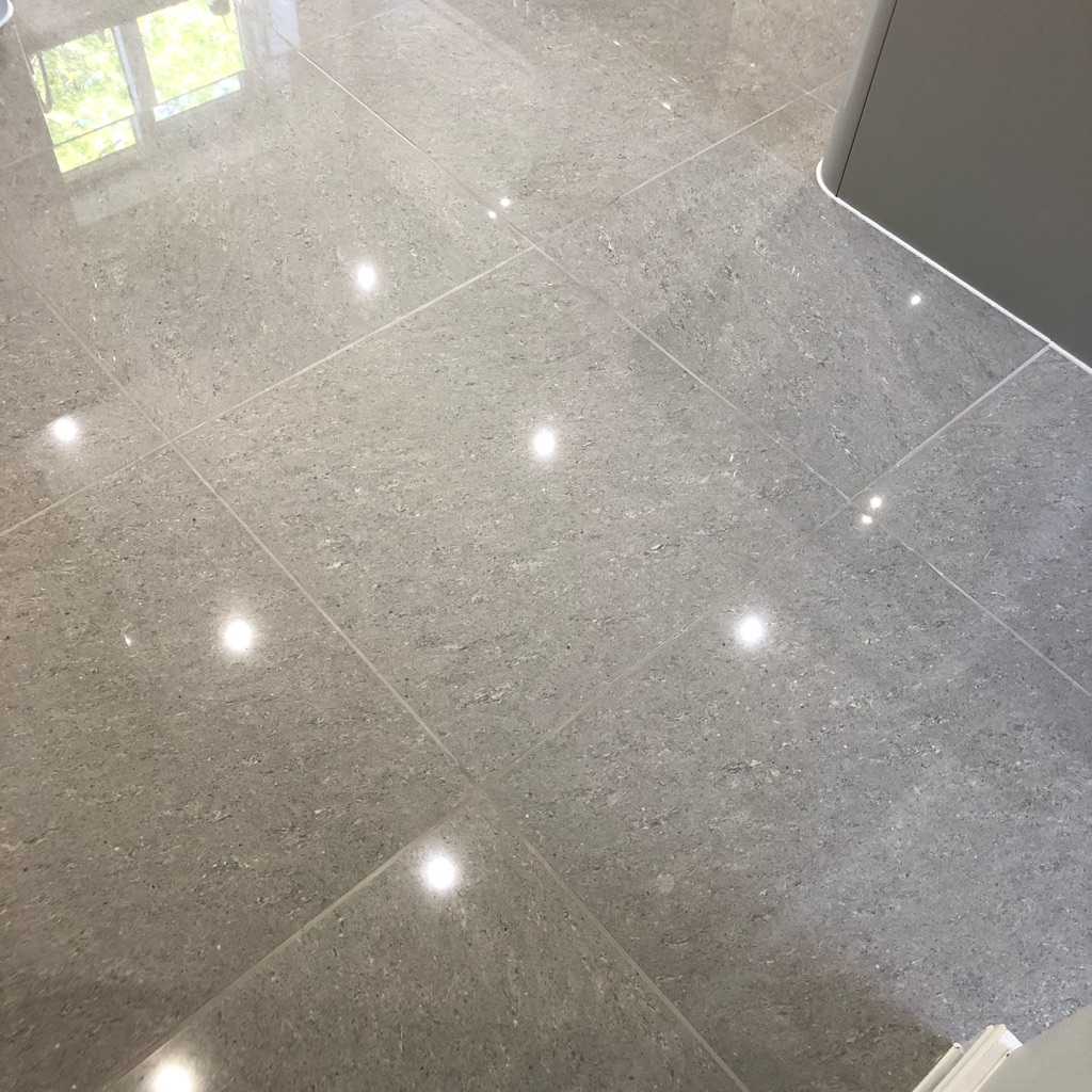 Porcelain Tiles (Pearl grey 600 by 600)