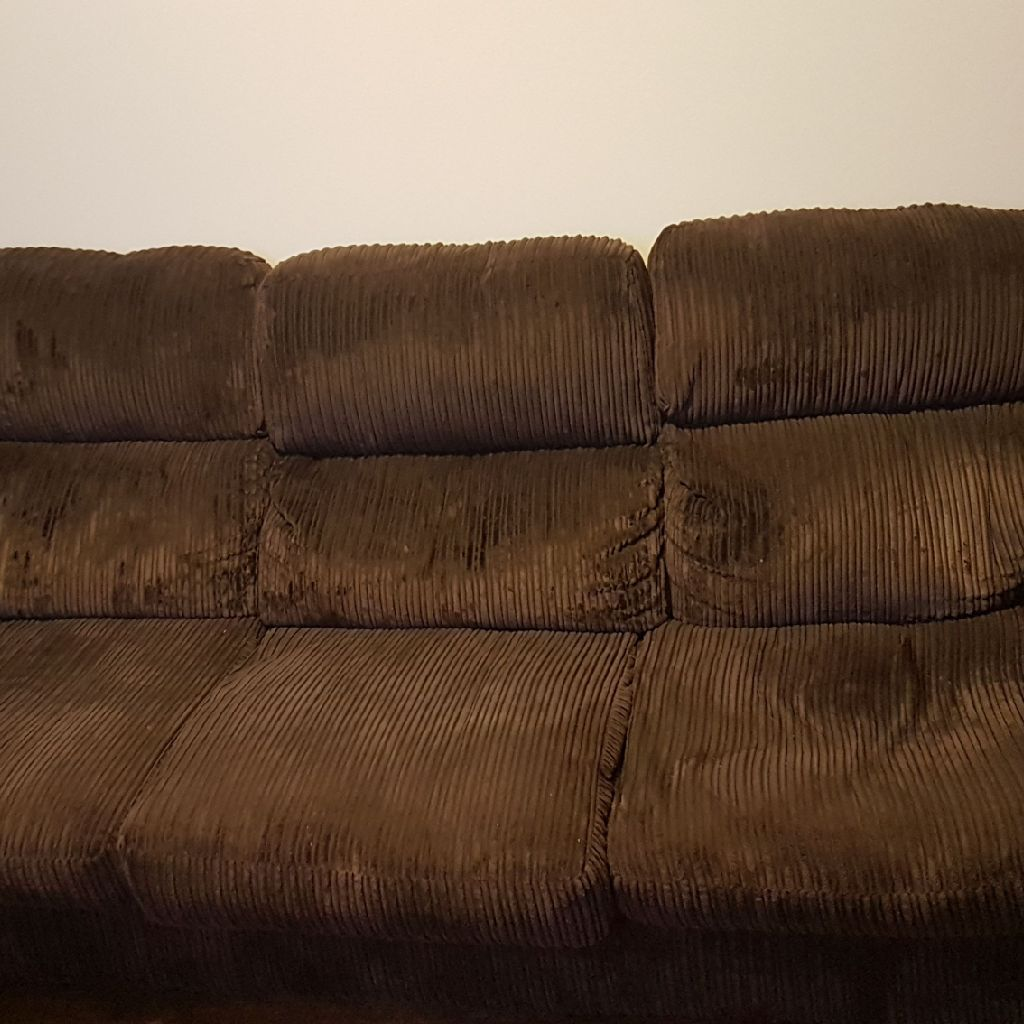 Large DFS sofa. Can seat 4