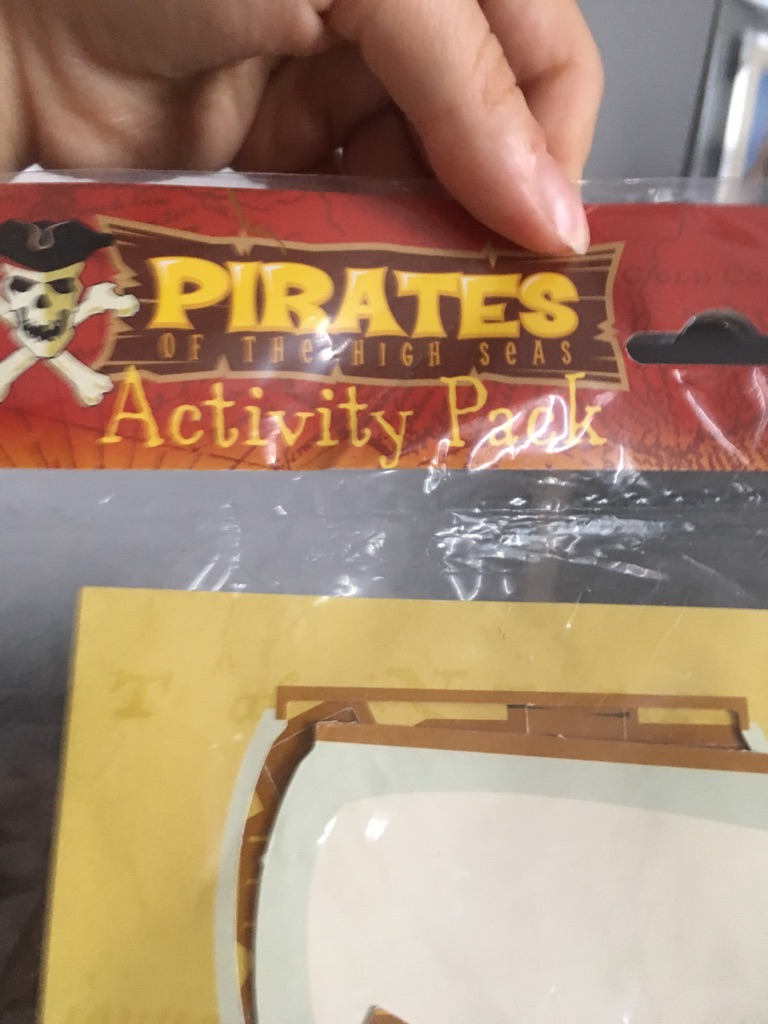 Pirates of the high seas activity pack