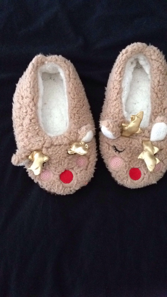 Christmas slippers size 12/1