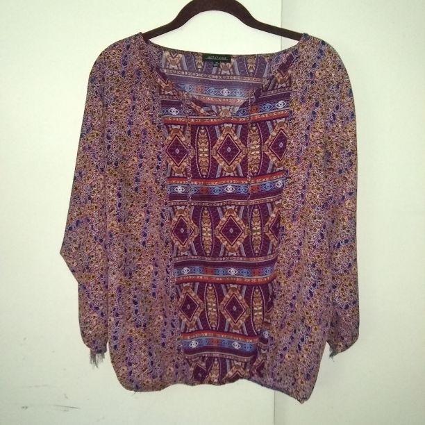 Womans blouse size large
