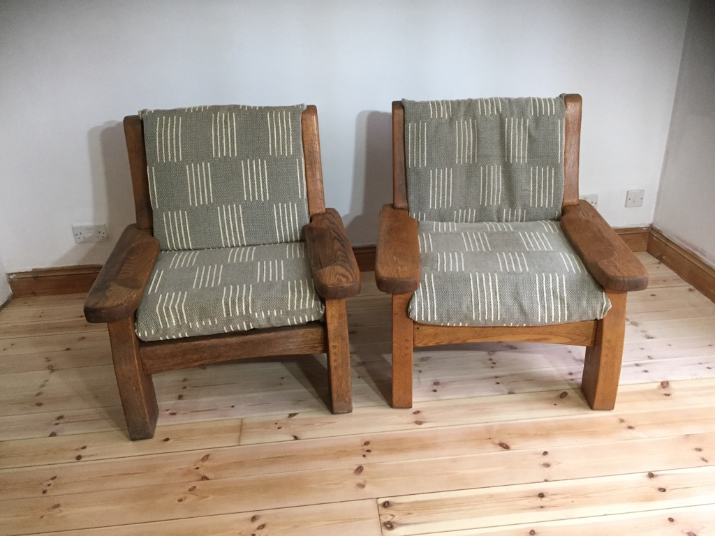 Oak Lounge chair