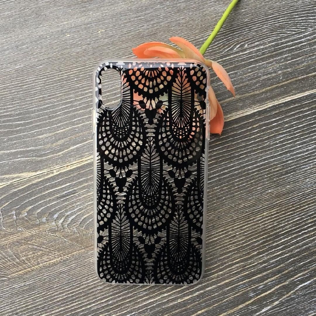 Black lace iPhone X/XS cas3