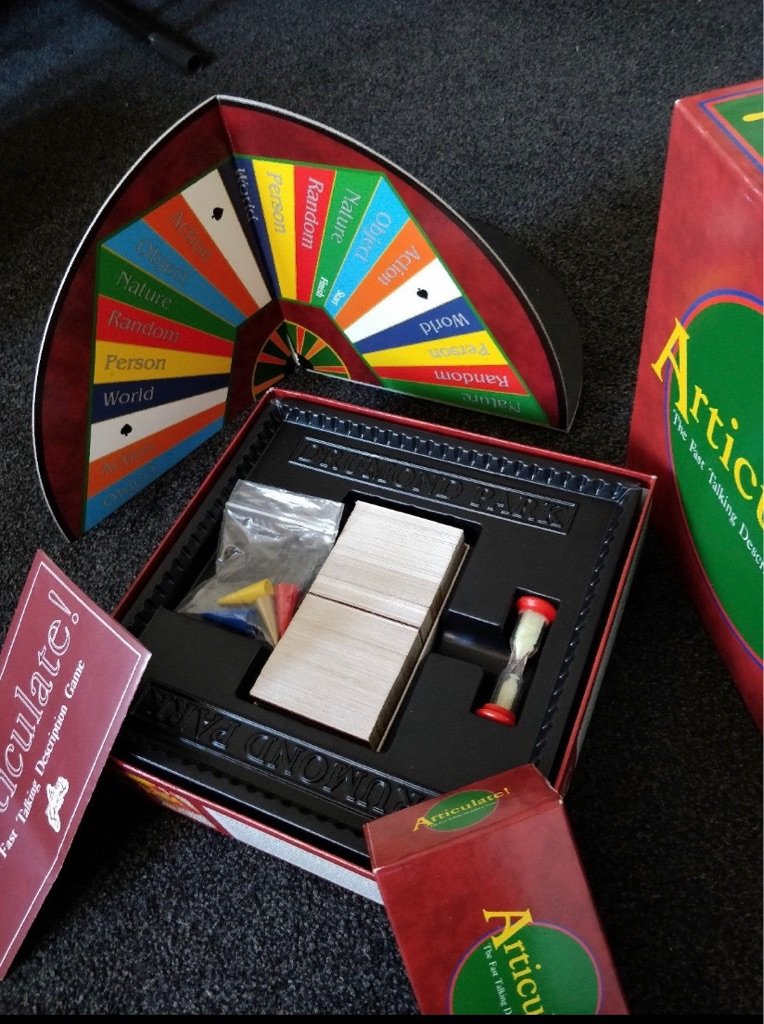 Official Articulate board game