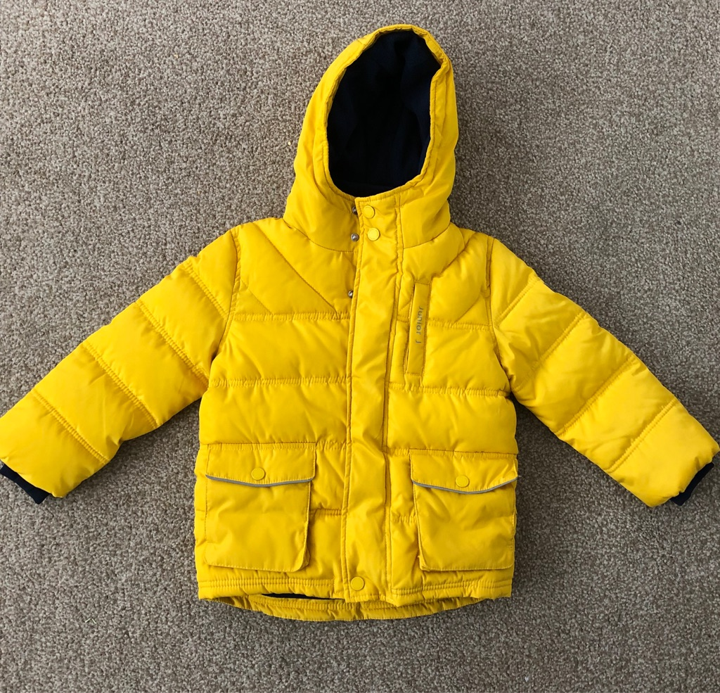 Brand New With Tags Debenhams Junior J Boys Yellow