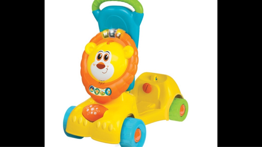 3-in-1 Grow with me Lion scooter toy/ walker with sounds