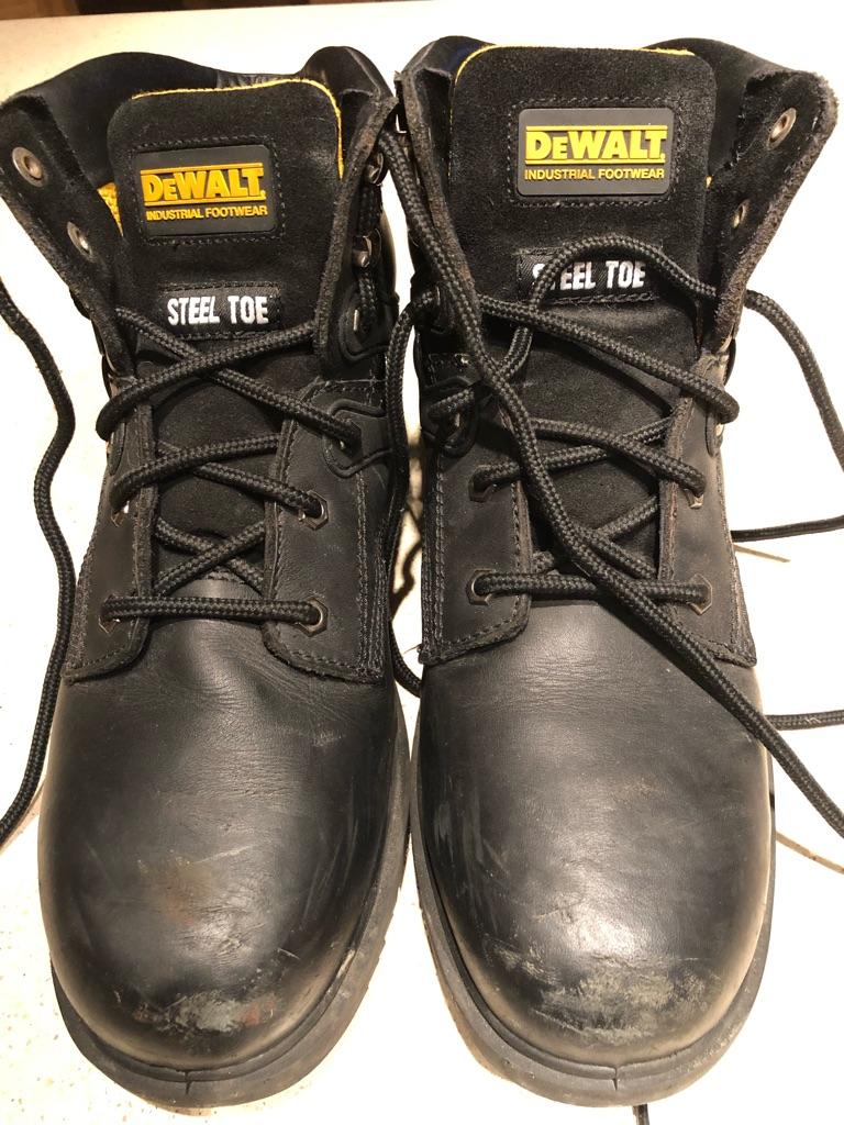 DeWalt work boots size UK10