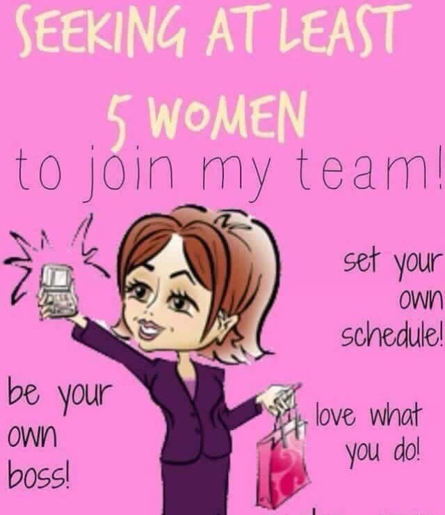 Interested in joining my team??