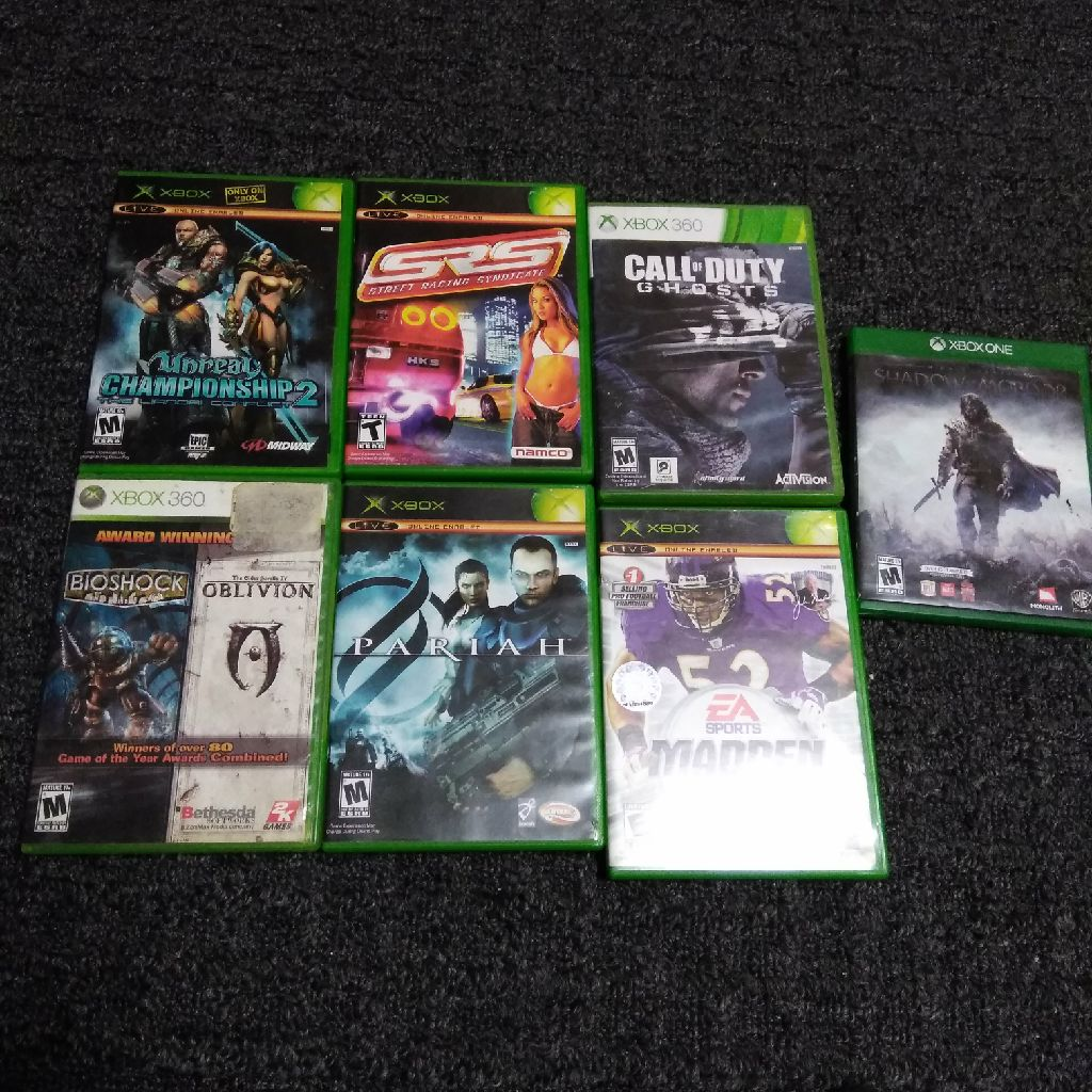 Xbox, Xbox 360, & Xbox One Games