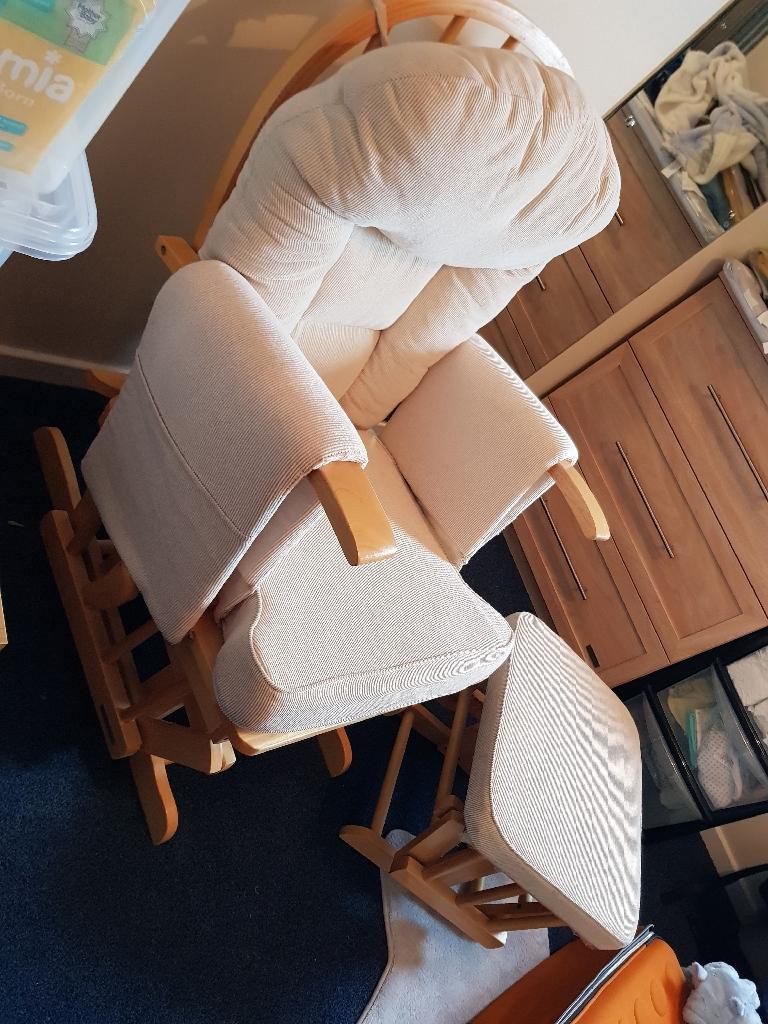 Mothercare nursery seat & footstool