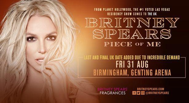 2X Britney Spears tickets