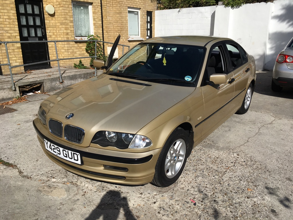 BMW 316i E46 2001 GOLD 100K Mileage
