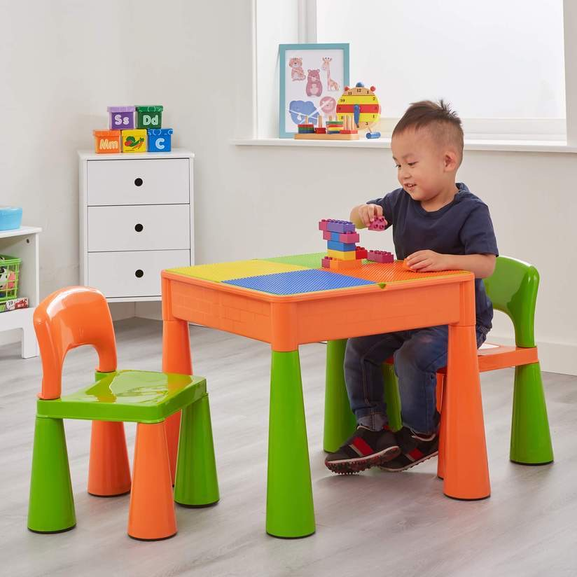 5 IN 1 MULTI PURPOSE TABLE AND CHAIR SET