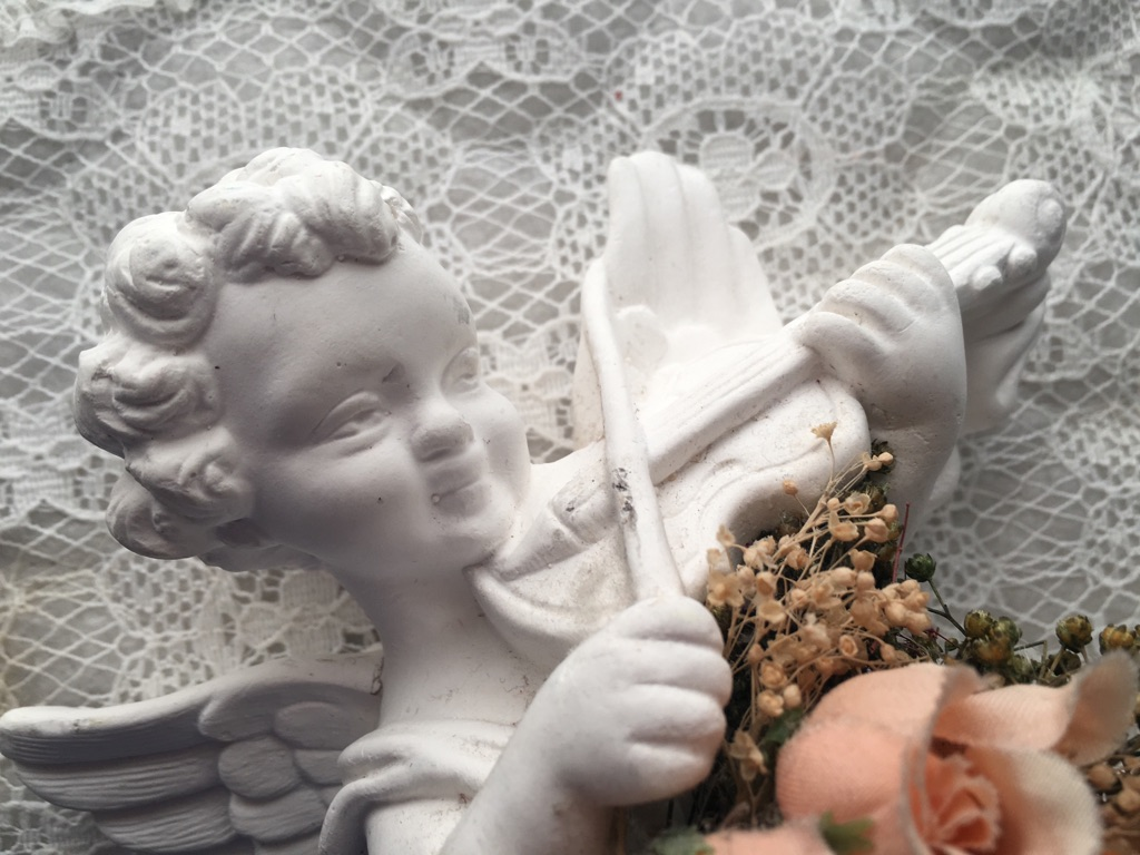 Ceramic Angel for the Wall