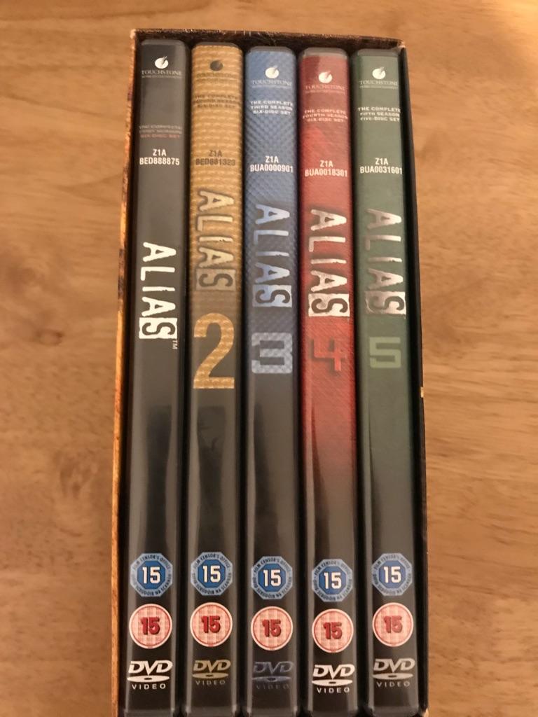 Alias Seasons 1-5 dvd