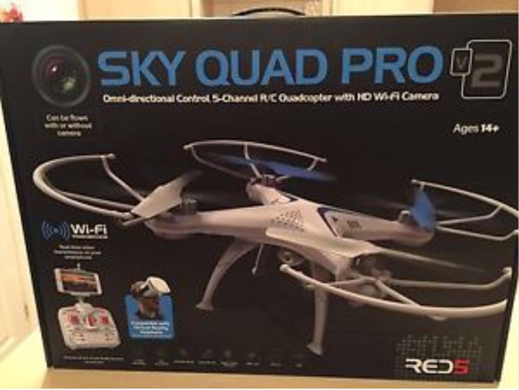 NEW SKY DRONE PRO V2 NEW