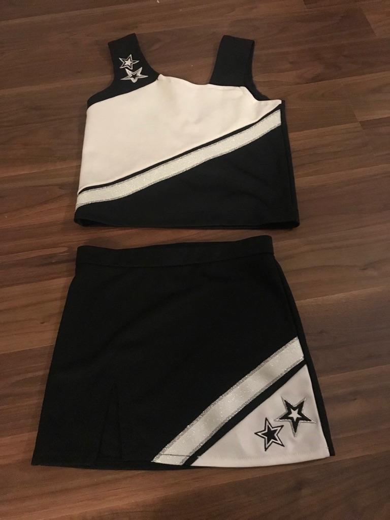 Girls cheerleaders outfit