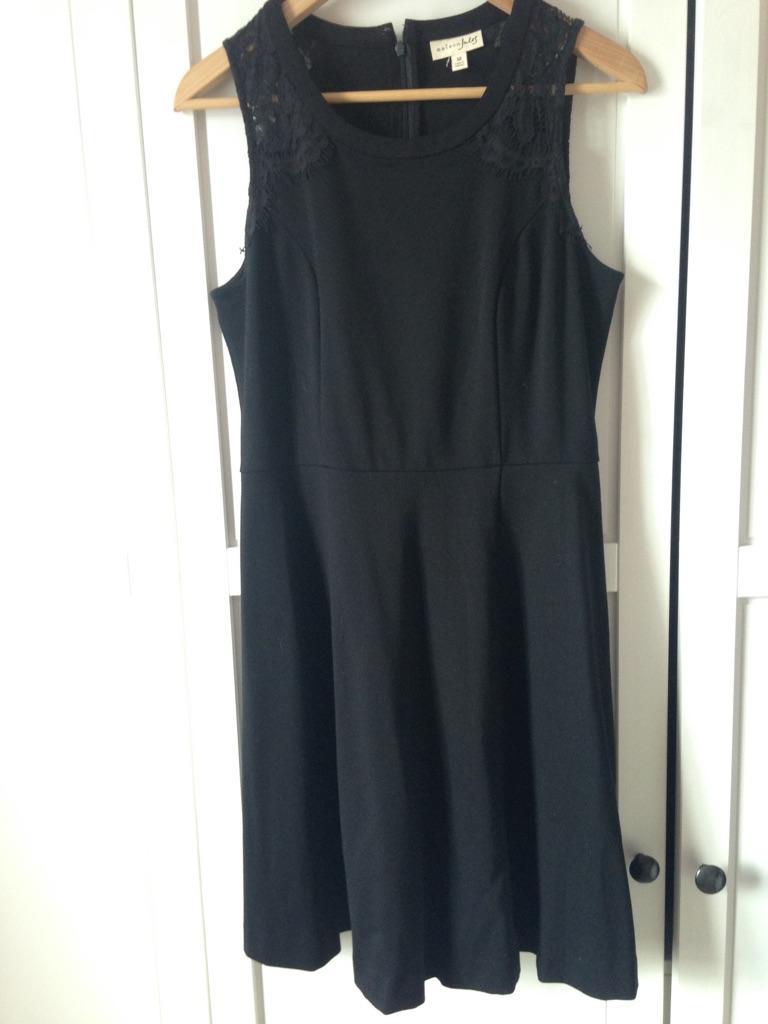 Black designer dress