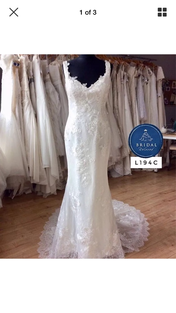 Brand new modeca wedding dress