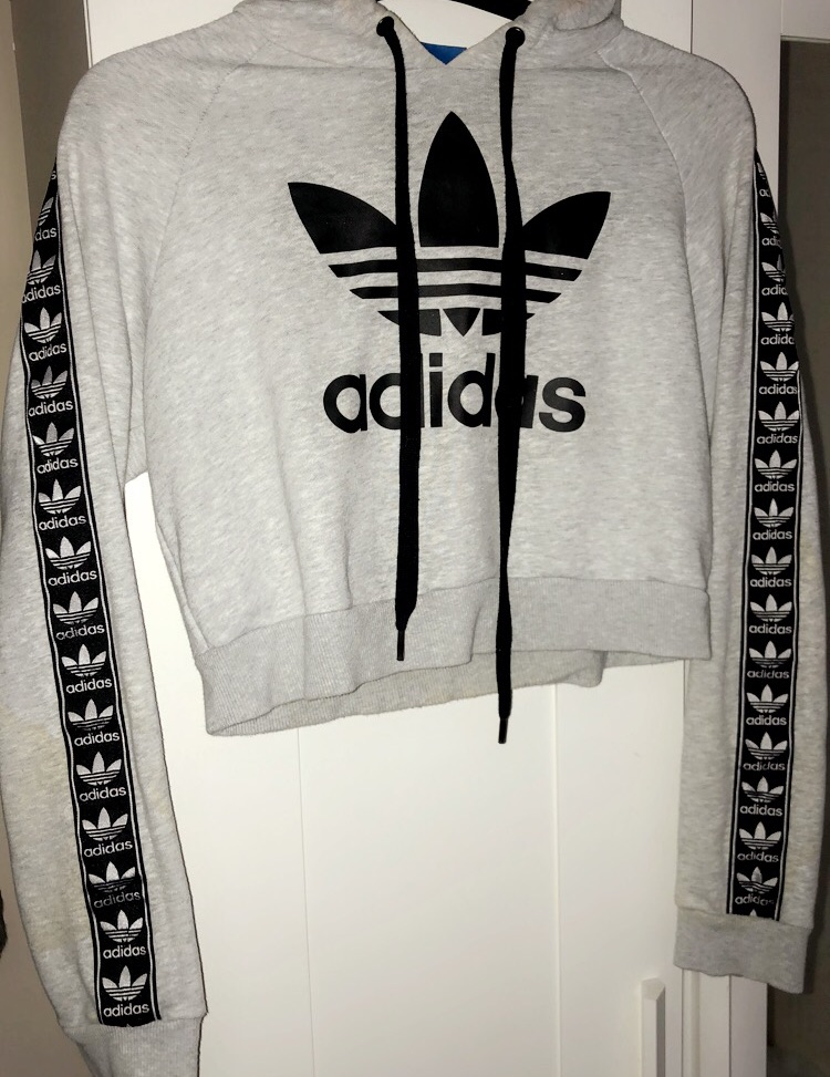 Women's cropped Adidas jumper