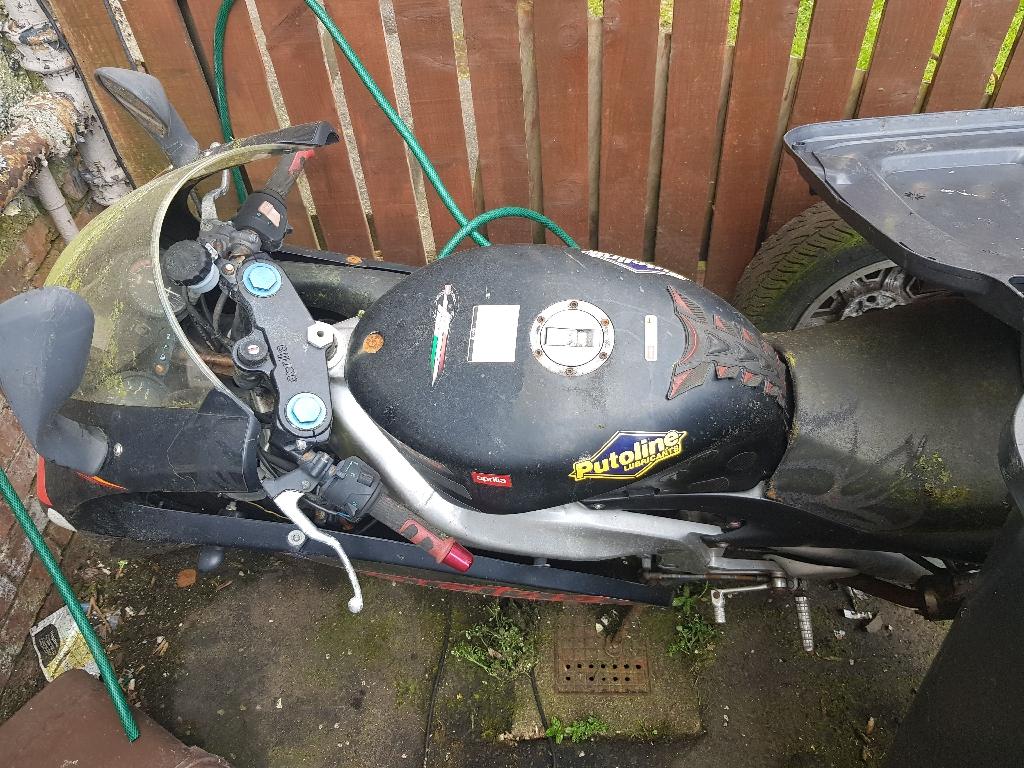 Aprilla motorbike