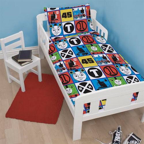 Thomas and friends toddler bedding not