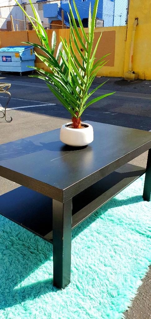 Ikea Lack Coffee Table Black Brown Village