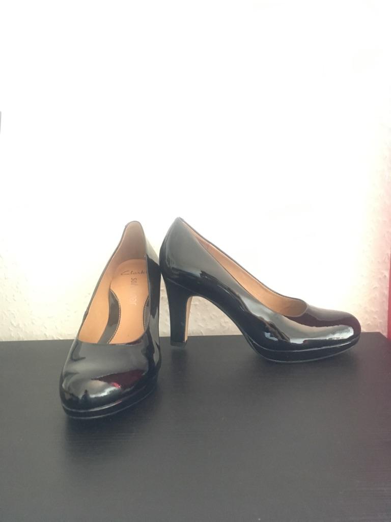 Clarkes Black Heels