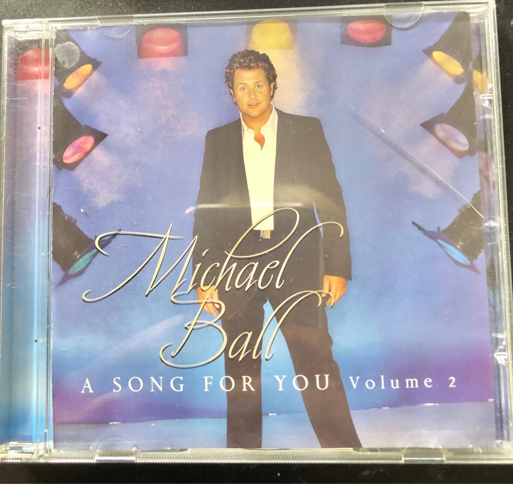 MICHAEL BALL A SONG FOR YOU VOLUME 2 CD