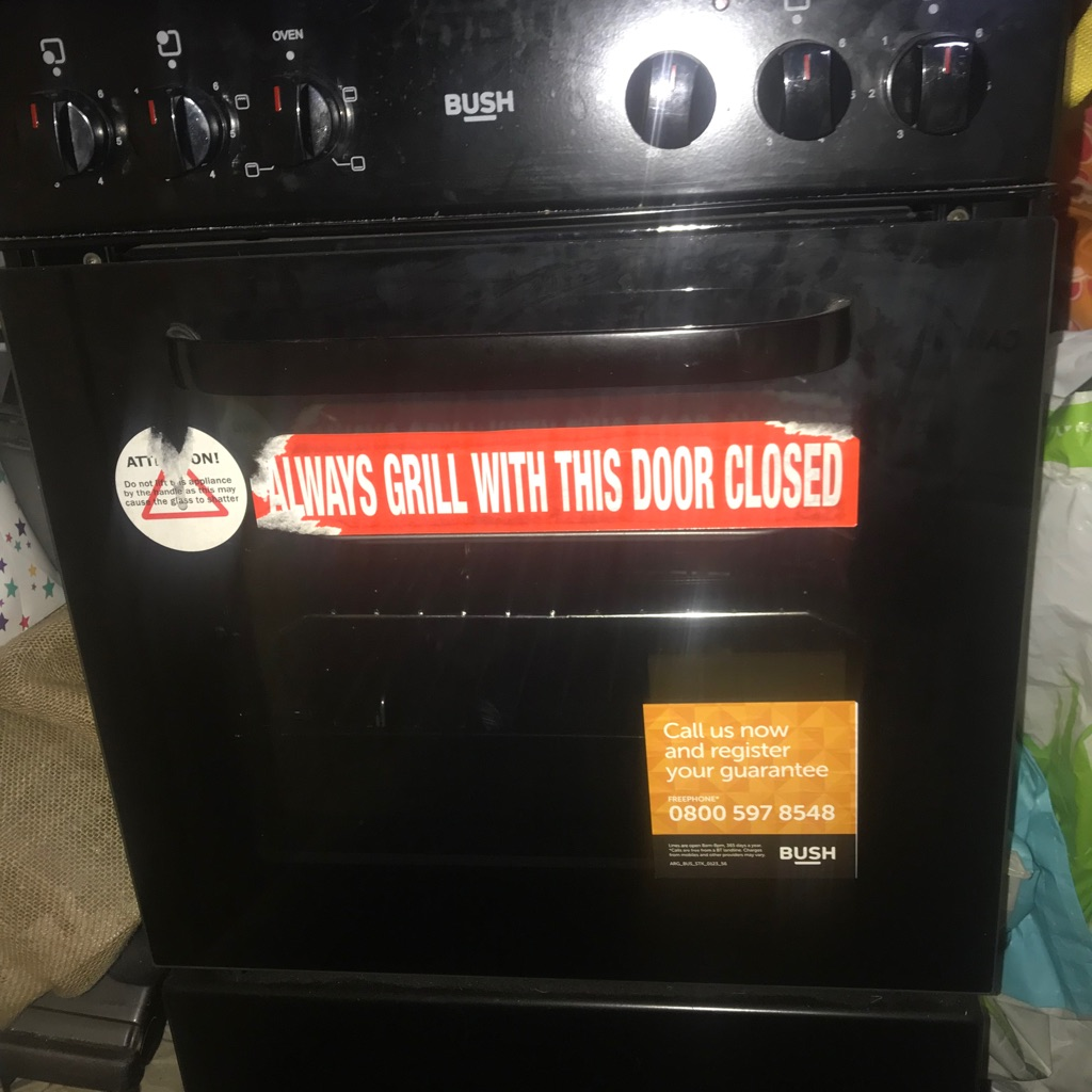 Bush Electric Oven BES50B