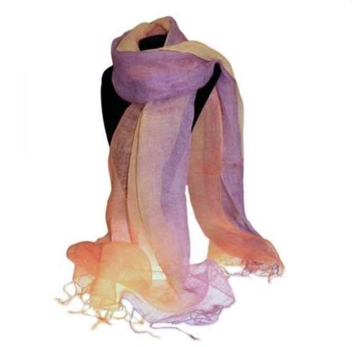 Classic linen scarf