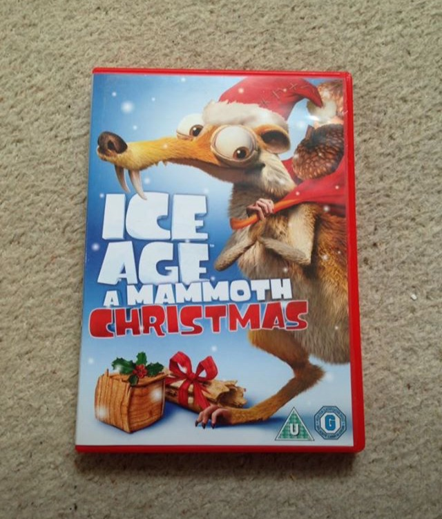 Ice Age A Mammoth Christmas DVD