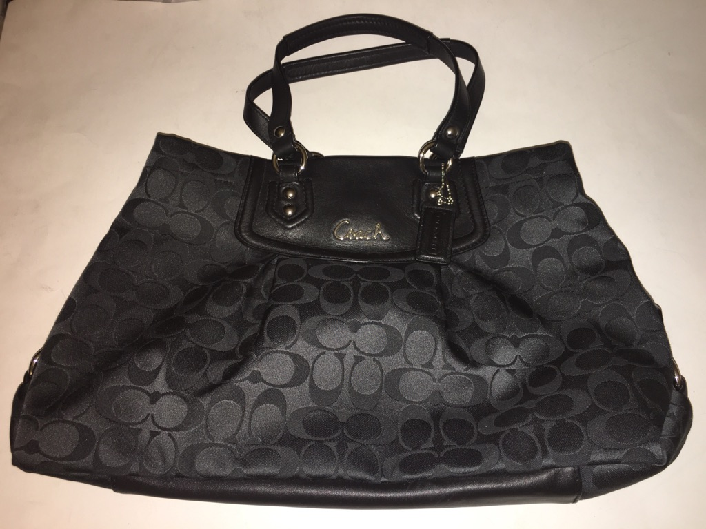 Coach Ashley Signature Satchel Bag