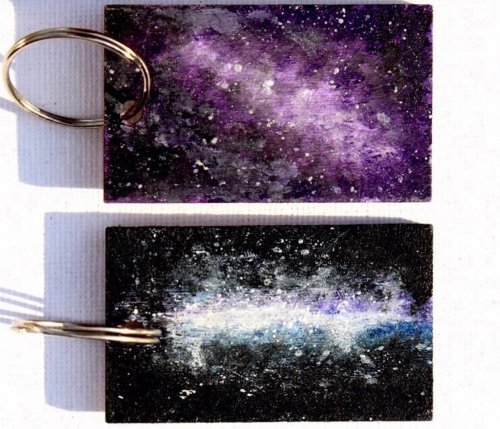 Galaxy keyrings