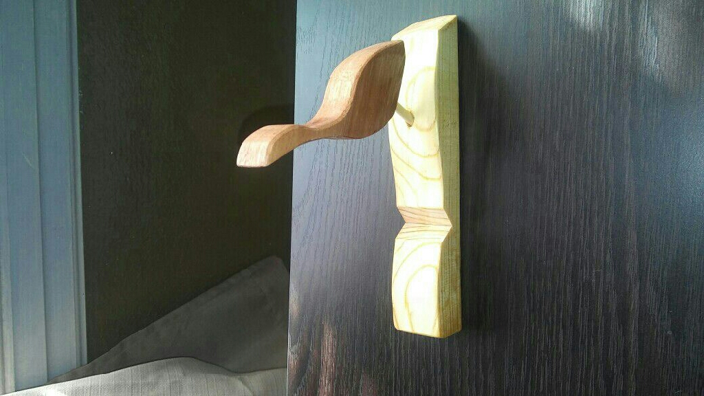 Wooden Cellphone holder