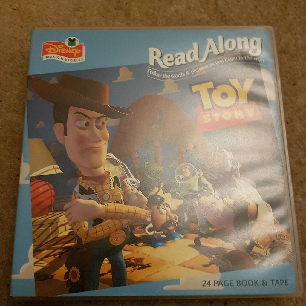 Disney music and stories read along toys story