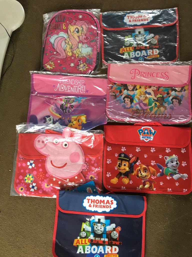BRAND NEW BOOK BAGS