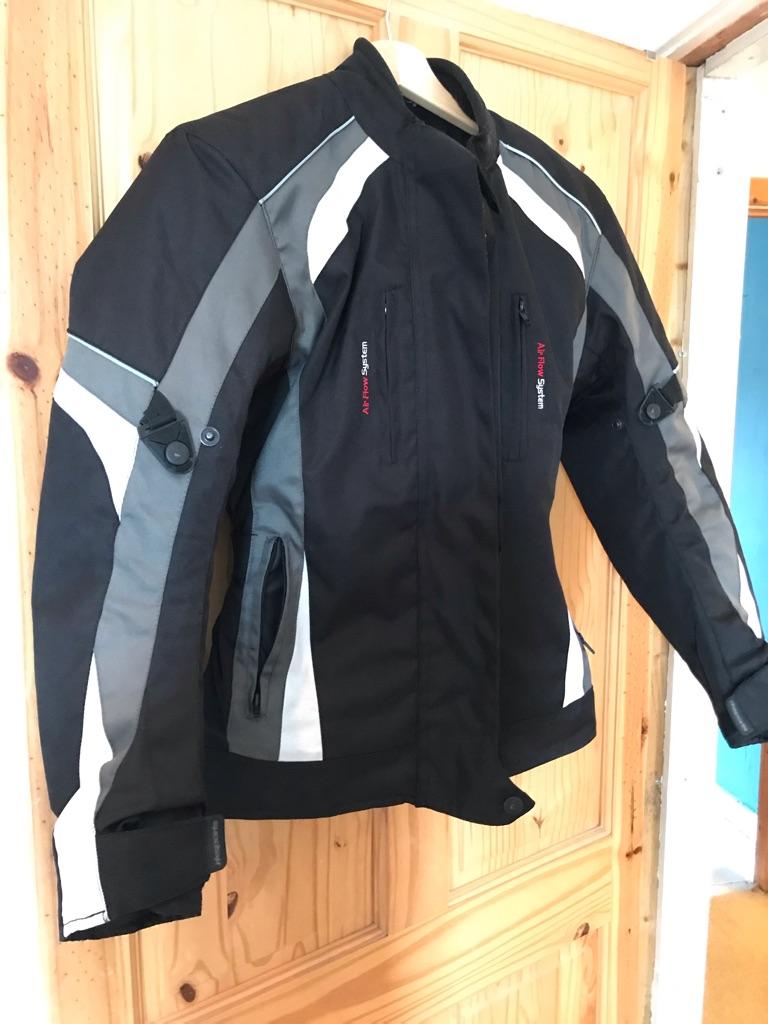 Ladies Motorbike Jacket (size 8)