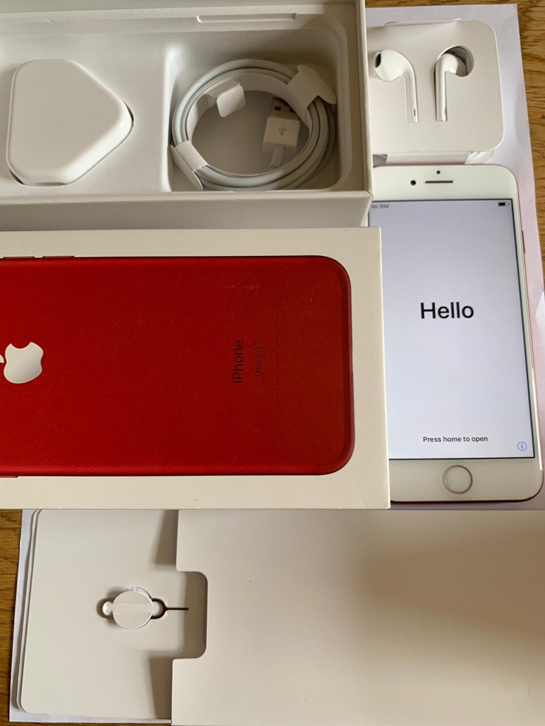 iPhone 7 Red 128gb (Vodafone)