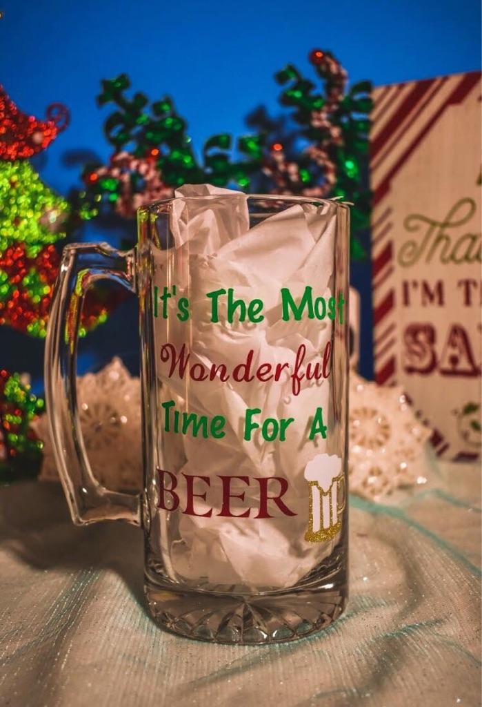 Custom Made Beer Mug