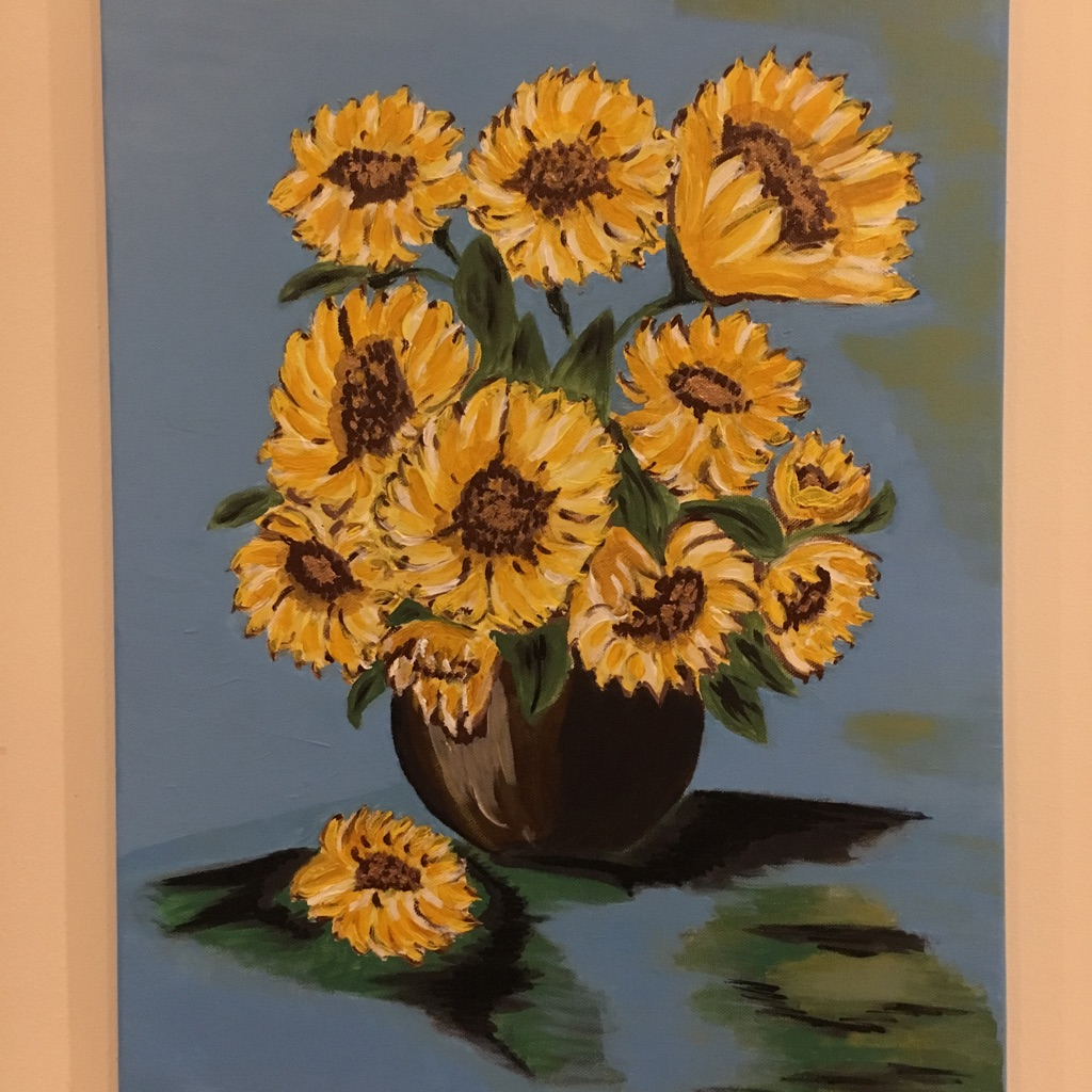 Sunfowers art pictures