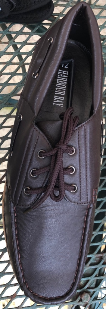 Brand New In Box Harbour Bay Size 12 Boat Shoe Type
