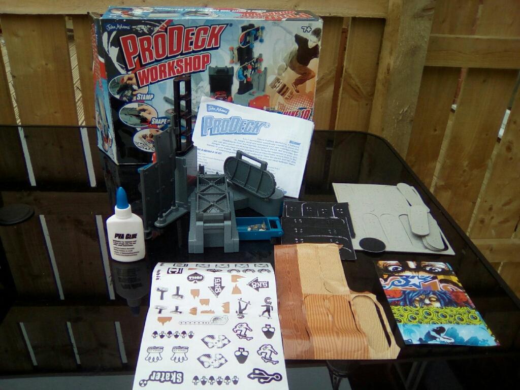 Pro deck workshop
