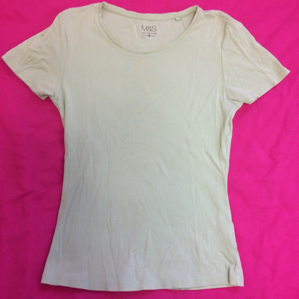 Ladies Green t-shirt -  Marks and Spencer UK size 8
