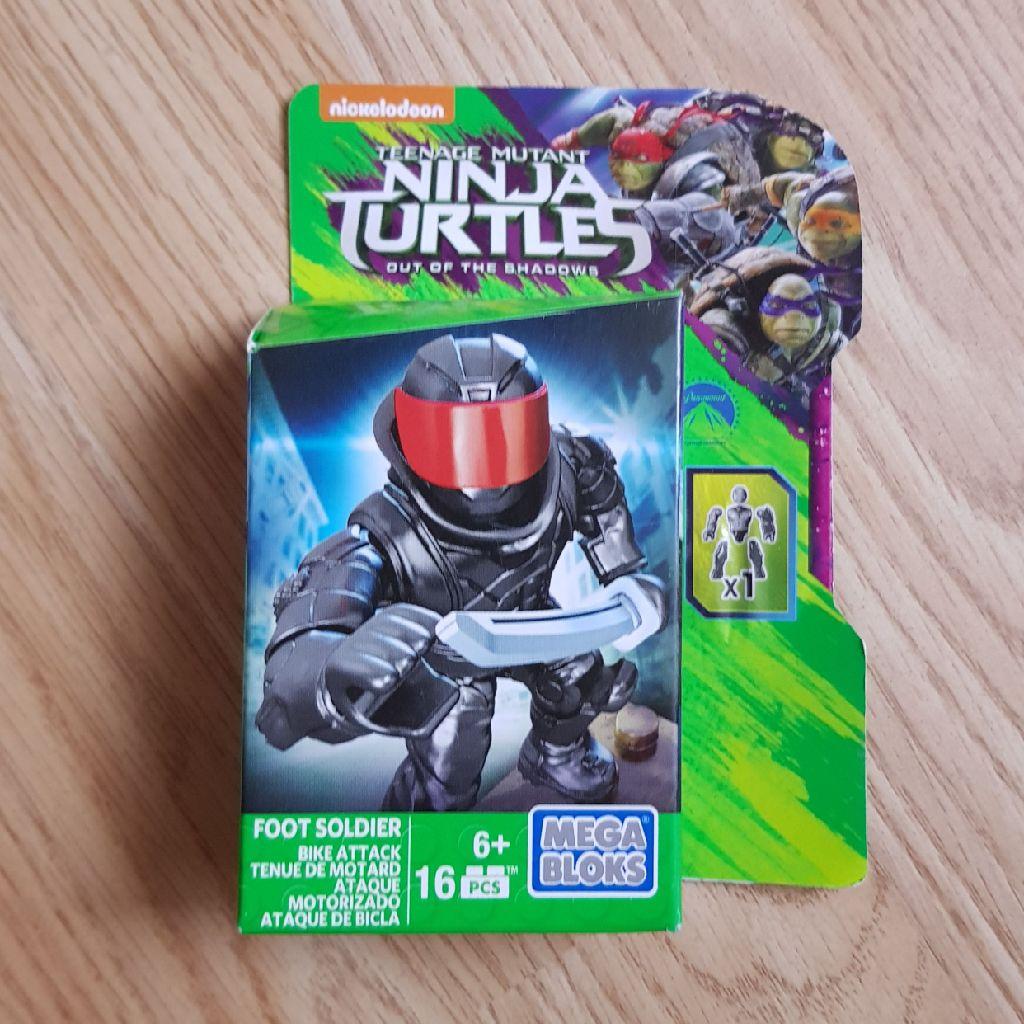 Brand new turtles mega bloks figure