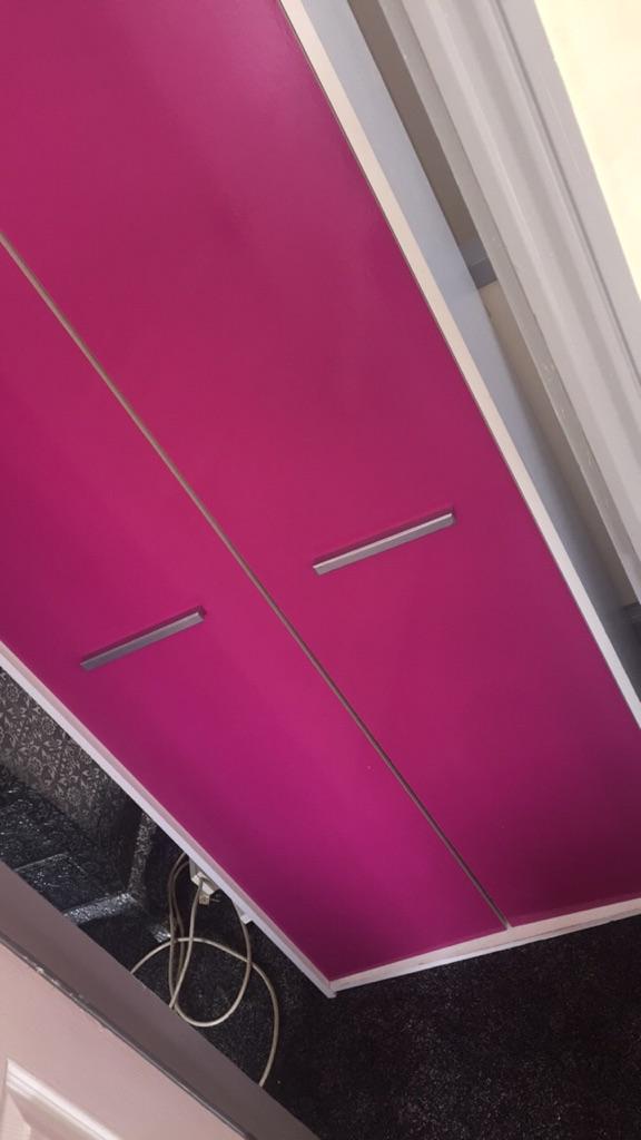 Gloss pink wardrobe